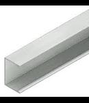 Canal din aluminiu 65x65mm, l=3m