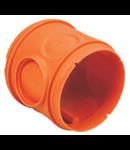 Corpul dozei cu gauri pt tub flexibil de 16 si 23mm