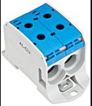 Clema sir dubla 95 mmp Albastru -   Aluminu sau Cupru