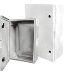 Dulap etans din Poliester  (ABS) 500x400x175 mm cu contrapanou metalic