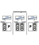 power management, fixed maximum power setting or 0-10V input