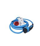 Incarcator mobil CEE 32A la Tip2, cablu de 5m si bluetooth