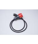 Cablu adaptor, Schuko catre CEE 16A, 230V 16A monofazat