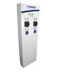 i-CHARGE PUBLIC 400 2xT2 11-22kW 2xSchuko 3.7kW INOX