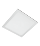 LED PANEL 45W 4000-4300K 595X595mm DIMABIL CADRU ALB IP44+KIT EMERGENTA