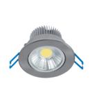 SPOT LED LSLCOB 7W 2700K-3000K 230V SATIN NICHEL