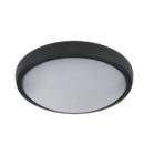 CORP ILUMINAT LED ROTUND TAVAN BRLED 12W NEGRU IP54