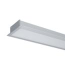 PROFIL LED INCASTRAT S77 24W 4000K 600MM GRI+KIT EMERGENTA