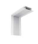 PROFIL COLT INTERIOR LED INCASTRAT ALB S77