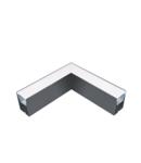 PROFIL COLT L-TIP LED APLICAT GRI S48