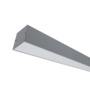 PROFIL LED APARENT S77 24W 4000K 600MM GRI