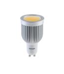BEC LED COB 5W GU10 230V LUMINA ALBA