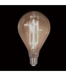BEC LED VINTAGE DIMABIL 8W E27 D160 2800-3200K FUMURIU