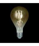 BEC LED VINTAGE DIMABIL 8W E27 2800-3200K FUMURIU D:130