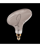 LED VINTAGE LAMP DIMMABLE UFO 4W E27 2000K SMOKED