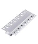 DP63 PROFIL LED ALUMINIU INCASTRAT GIPS CARTON 2M