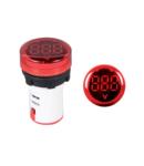 DIGITAL ROUND VOLTMETER EL-ED16R AC 12-500V D22mm
