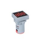 DIGITAL SQUARE VOLTMETER EL-ED16S AC 12-500V D22mm