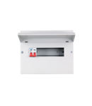 METAL CONSUMER UNIT 12 MOD+ISS 2P/100A