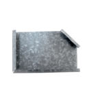 CT1 90D ANGLE COVER H:10 W:150 mm
