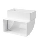 TUBULATURA FLEXIBILA PVC PE VERTICAL 5252 55X110/KLV/