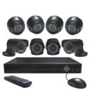 Kit supraveghere video de interior/exterior