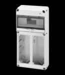 Organizator de santier Q-DIN 10 MODULE - 2 FLANSE - 2 IB VERTICAL FLANGE - 16 / 32A - IP65