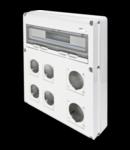 Organizator de santier Q-DIN 20 MODULE - 2 FLANSE IEC 309 63A + 4 FLANSE IEC 309 16 / 32A - IP65