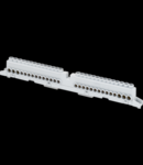 SCREW TERMINAL BLOCK - 80A - IP20 - BIPOLAR - POLE 1 N / T (2x16) + (7X10) POLE 2 N / T (2x16) + (7X10)