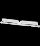 SCREW TERMINAL BLOCK - 80A - IP20 - unipolar - POLE 1 N / T (2x16) + (7X10)