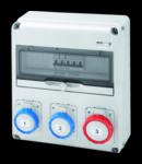 Organizator de santier Q-DIN 14 ASD - 3 IEC 309 - IP65