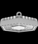 ESALITE HB - 6K - ELLIPTICAL OPTIC - DALI - 5700 K (CRI 80) - IP66 - CLASS I - RAL 9006 GREY