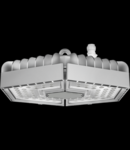 ESALITE HB - 24K - 30° OPTIC - DALI - 5700 K (CRI 80) - IP65 - CLASS I - RAL 9006 GREY