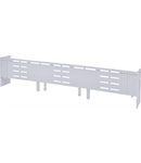 Overlap protector for busbar systems, h1 = 39 or 34mm, size 3 UGS KVL-3 3p/39-34