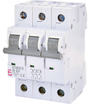 ETIMAT 6 Intrerupatoare automate miniatura 6kA ETIMAT 6 3p B63