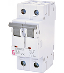 ETIMAT 6 Intrerupatoare automate miniatura 6kA ETIMAT 6 1p+N D4