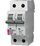 ETIMAT 6 Intrerupatoare automate miniatura 6kA ETIMAT 6 1p+N D13