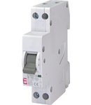 ETIMAT 1N Intrerupatoare automate miniatura 2 poli 1 modul ETIMAT 1N 1p+N B10 6kA