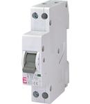 ETIMAT 1N Intrerupatoare automate miniatura 2 poli 1 modul ETIMAT 1N 1p+N B32 6kA