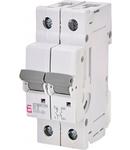 ETIMAT P10 Intrerupatoare automate miniatura 10kA ETIMAT P10 1p+N D2