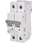 ETIMAT P10 Intrerupatoare automate miniatura 10kA ETIMAT P10 2p K6