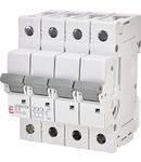 ETIMAT P10 Intrerupatoare automate miniatura 10kA ETIMAT P10 3p+N D6