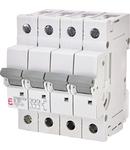 ETIMAT P10 Intrerupatoare automate miniatura 10kA ETIMAT P10 3p+N B20