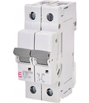 ETIMAT P10 Intrerupatoare automate miniatura 10kA ETIMAT P10 1p+N B50