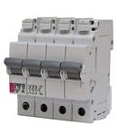 ETIMAT P10 Intrerupatoare automate miniatura 10kA ETIMAT P10-QC 3p+N C4