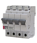 ETIMAT P10 Intrerupatoare automate miniatura 10kA ETIMAT P10-QC 3p+N B20