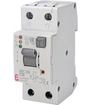 KZS-2M2p EDI Intrerupatoare de curent rezidual cu protecție la supracurent, 2 modules, A type KZS-2M2p EDI A C20/0.03
