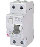 KZS-2M Intrerupatoare de curent rezidual cu protecție la supracurent, 2 module, tip A și AC KZS-2M A B40/0.03