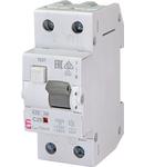 KZS-2M Intrerupatoare de curent rezidual cu protecție la supracurent, 2 module, tip A și AC KZS-2M A C25/0.01