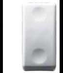Intrerupator cap scara 1P 250V ac - 16AX - NEUTRAL - 1 MODULE - SYSTEM WHITE